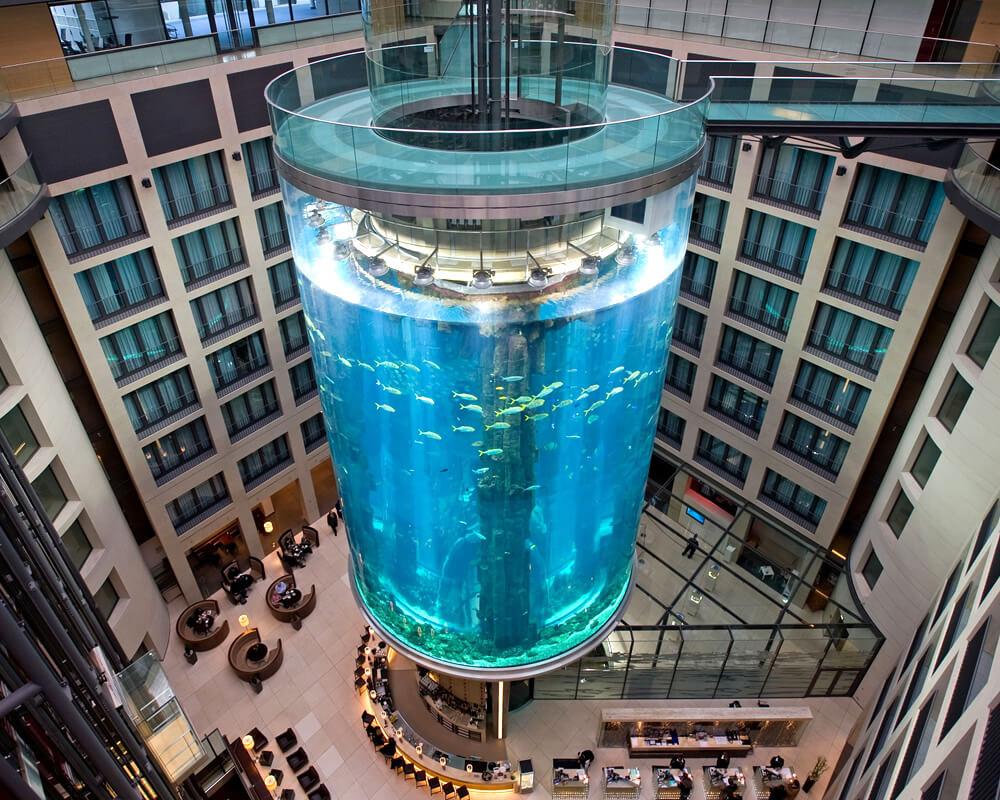 ADP ascensores - Ascensor aquadom Berlin